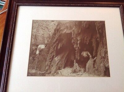 PRICE REDUCED Original Photo - American Indians In Grand Canyon, 1870's?