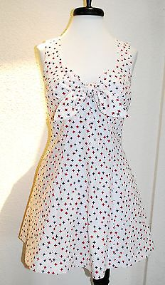 Skirted Pinup Swimsuit / Bathing suit / Playsuit Vintage 1950s Rockabilly