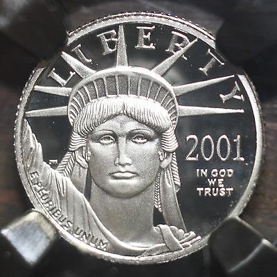 2001 W Platinum Eagle $10 NGC PF70 UC ***Rev Tye's Coin Stache*** #7010260