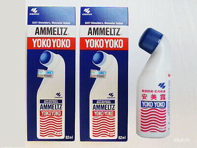 82ml Original Ammeltz YOKO YOKO Stiff Shoulder Muscular Aches Pains Relief
