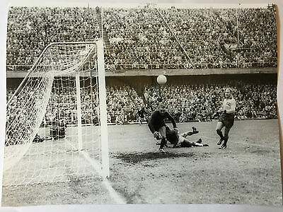 photo press football  Coupe Monde 1958 Finale Brazil-Suede       106