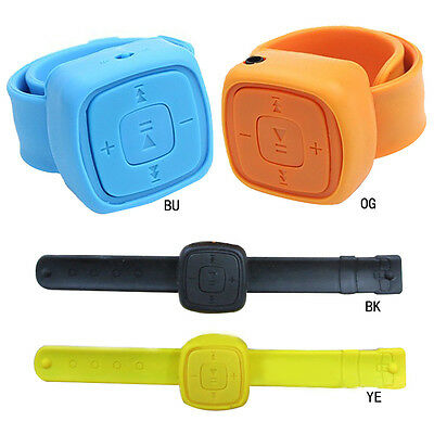 Fashion Mini Watches Mp3 Player With TF Card Portable Sports MP3 No Screen