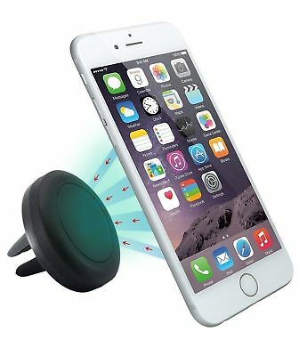 Car Magnetic Air Vent Mount Holder Stand For Mobile Samsung Cell Phone iPhone