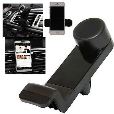 In Car Air Vent Mount Holder Universal Mobile Phone 360 Rotating Cradle Stand UK