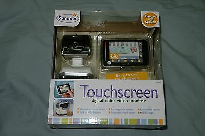NEW Summer Infant Wireless Touchscreen Digital Color Baby Monitor 29240 SEALED