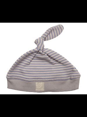 *new* Boys Mizzle Knotted Beanie Blue Stripe Medium- 3 Months