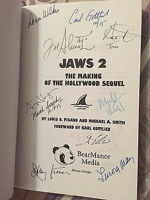 Jaws 2 Signed By 11 Making Of A Hollywood Sequel Book