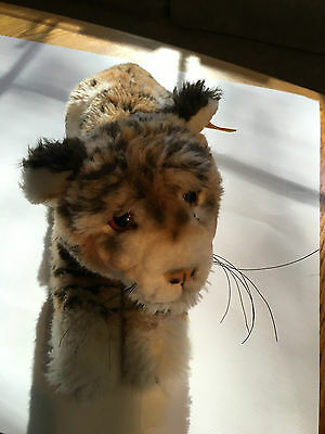 Steiff Molly Taky Baby Stuffed Tiger With Button In Ear & Tag 0380/30