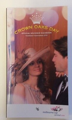 2010 Crown Oaks Day Official Race Book - Brazilian Pulse - Horse Racing