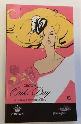 2006 Crown Oaks Day Official Race Book - Miss Finland - Horse Racing