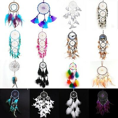 Multi-colors Handmade Indian Wind Chimes Dreamcatcher Home Garden Hanging Decor