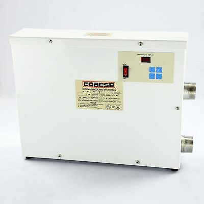 NEW 220V 5.5KW Electric Water Thermostat Heater for Swimming Pool & SPA Bathe