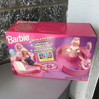 1995# Barbie Mattel Vintage Pull Pop Play House# Nib Rare