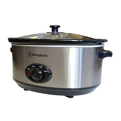 NEW Westinghouse Slow Cooker 6.5L (RRP $70)