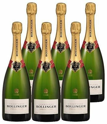 Bollinger Special Cuvee Champagne Case of 6 (6 x 75cl)