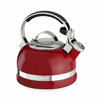 NEW KitchenAid Stovetop Kettle 1.9L Empire Red (RRP $150)