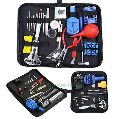 Watch Repair Tool Kit Case Opener Link Remover Spring Bar Tool / Carrying Case