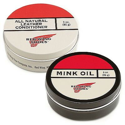 Red Wing All Natural Leather Or Mink Oil Conditioner - Boot Protection Wax