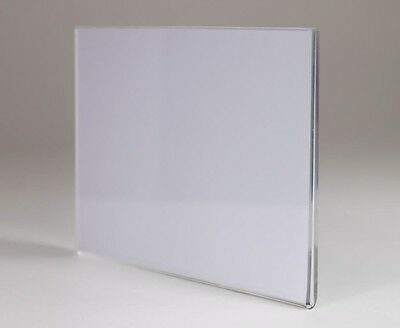 Acrylic Wall Poster Displays Menu Holder Leaflet Shop Sign Clear Acrylic Holder