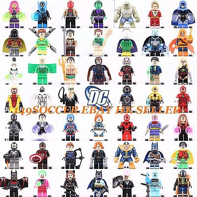 2017 New Marvel Avengers Super Heroes DC Comics Building Blocks Lego Toy figures