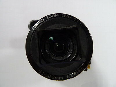 CANON POWERSHOT G12 LENS ZOOM UNIT ASSEMBLY  PART With CCD