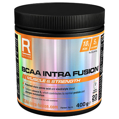 Fruit Punch - Reflex Nutrition Bcaa Intra Fusion 400G - Free P+P