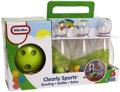 Little Tikes Clearly Sports Bowling - Brand New - Fast Postage