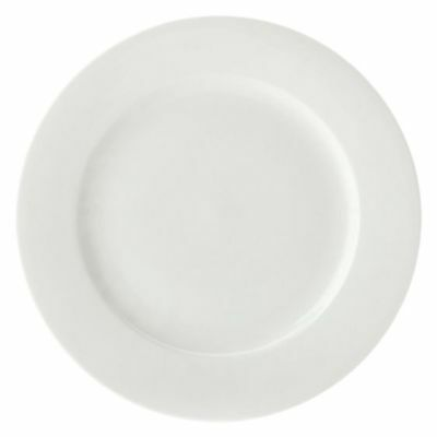 NEW Maxwell & Williams White Bistro Dinner Plate