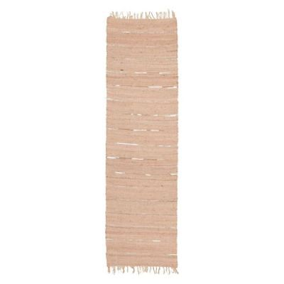 NEW Rug Culture Deva Jute Runner Rug, Nude