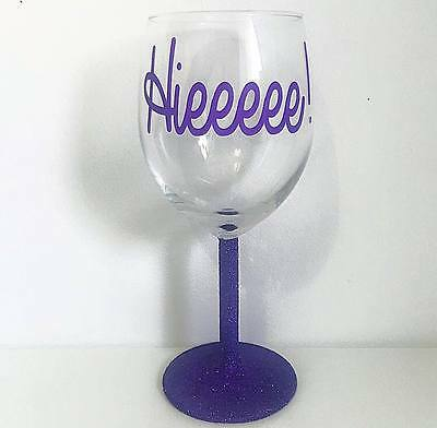 RuPauls Drag Race Alaska Thunderfuck 5000 Quote Glitter Wine Glass