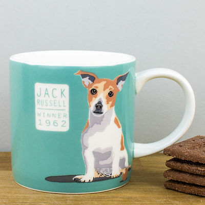 New Ulster Weavers Bone China Jack Russell Terrier Dog Personalised Gift Mug
