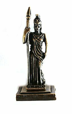ANCIENT GREEK ZAMAC MINIATURE OF ATHENA Bronze