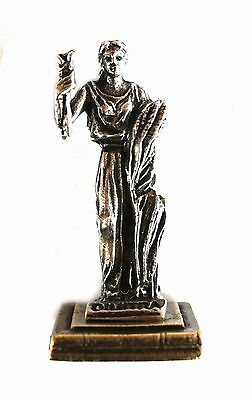 ANCIENT GREEK ZAMAC MINIATURE OF DEMETER (DIMITRA) Silver