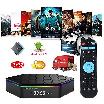 T95Z Plus S912 2GB 16GB 7.1 Octa Core Android TV Box 2.4 5Ghz WIFI UHD 4K