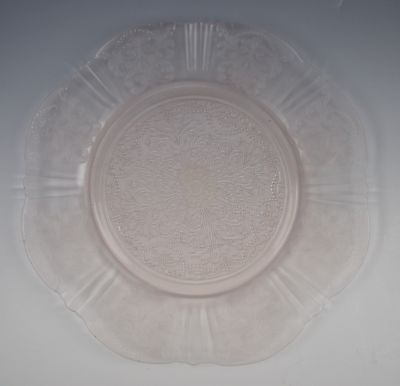 Macbeth-Evans Glass AMERICAN SWEETHEART-PINK Salad Plate(s) VERY GOOD