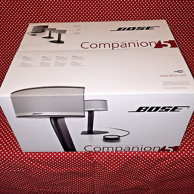 BRAND NEW Bose Companion 5 Multimedia Speaker System - FREE SHIP USA