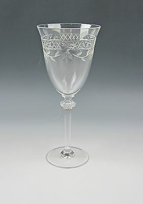 Royal Doulton Crystal WELLESLEY-CLEAR Water Goblet(s) Excellent