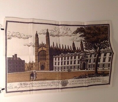 KING'S COLLEGE / UNIVERSITY of CAMBRIDGE Tea Towel