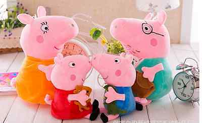 PEPPA PIG Stuffed Animal Plush Doll peppa gorge FAMILY figure