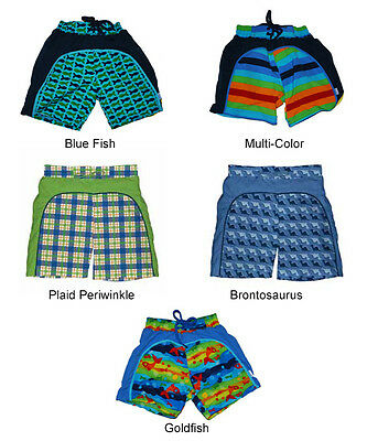 iPlay Washable, Reusable Swim Diaper Trunks