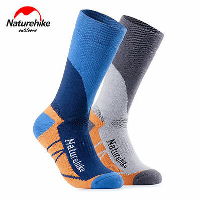Men Women Long Thick Thermal Snow Ski Hiking Outdoor Winter Sport Socks Warm