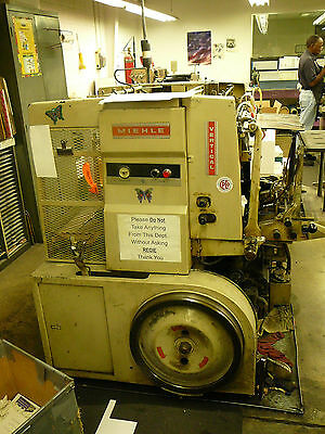 Meihle V-50x vertial purchase new in 1968