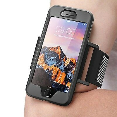 iPhone 7 Armband SUPCASE Easy Fitting Sport Running (SUP-iPhone7-Armband-Black)