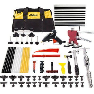 PDR Paintless Hail Dent Puller Lifter Removal Hammer Tool Repair Line Board Kits