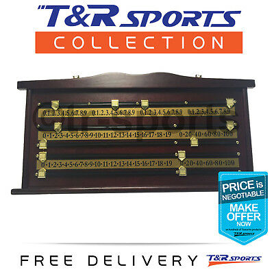 Wooden Scoreboard Classic Design for Snooker Free Delivery