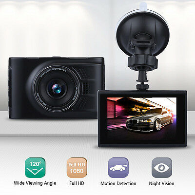 "A10 Full HD 1080P 3"" LCD Car Dash DVR Camera Video CAM Recorder Night Vision USB"