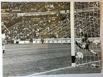 photo press football  World Cup 1978  France- Italie but de Locombe        153