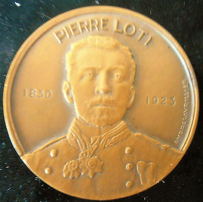 1953-Ss Pierre Loti- Indian Ocean Route-French Line-Unicorn-- Superb Bronze