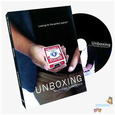 Unboxing by Nicholas Lawrence and SansMinds - Card Magic Trick,Close Up,Illusion