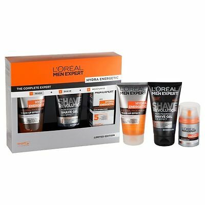 L'Oreal Men Expert Hydra Energetic Gift Set - The Complete Expert Set